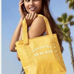 Pink Victoria's Secret Insulated Cooler Tote Bag
